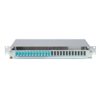 906478 - CCM SpiderLINE Patchpanel 1HE Alu