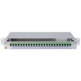 940332 - CCM SpiderLINE Patchpanel 1HE Alu PRO