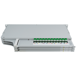 905504 - CCM Patchpanel 1HE SLITE HD links