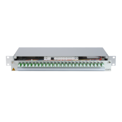 906279 - CCM Patchpanel 1HE Alu