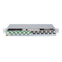906330 - CCM Patchpanel 1HE Alu