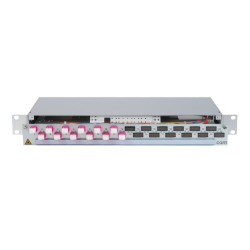 906384 - CCM Patchpanel 1HE Alu