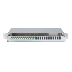 906287 - CCM SpiderLINE Patchpanel 1HE Alu