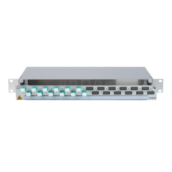 906374 - CCM SpiderLINE Patchpanel 1HE Alu