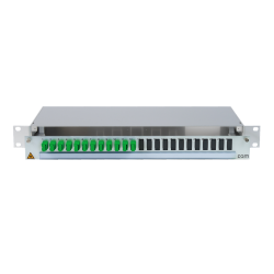 906456 - CCM SpiderLINE Patchpanel 1HE Alu