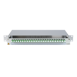 906291 - CCM SpiderLINE Patchpanel 1HE Alu