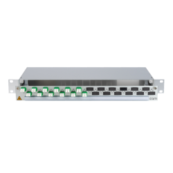 906346 - CCM SpiderLINE Patchpanel 1HE Alu