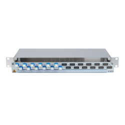 906316 - CCM SpiderLINE Patchpanel 1HE Alu