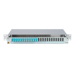 906476 - CCM SpiderLINE Patchpanel 1HE Alu