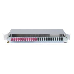 906500 - CCM SpiderLINE Patchpanel 1HE Alu