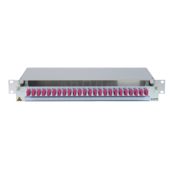 906502 - CCM SpiderLINE Patchpanel 1HE Alu
