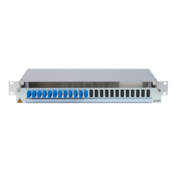906434 - CCM SpiderLINE Patchpanel 1HE Alu
