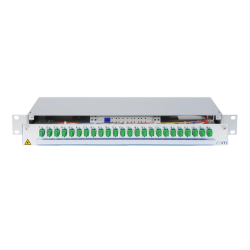 CCM Patchpanel 1HE Alu PRO